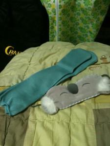 수면양말과 수면안대
